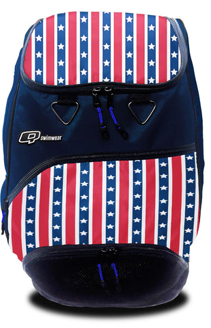 Sparkle Burst Blue Backpack