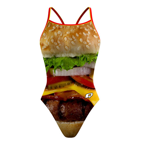 Taco 'Bout Swimming Sunback Tank