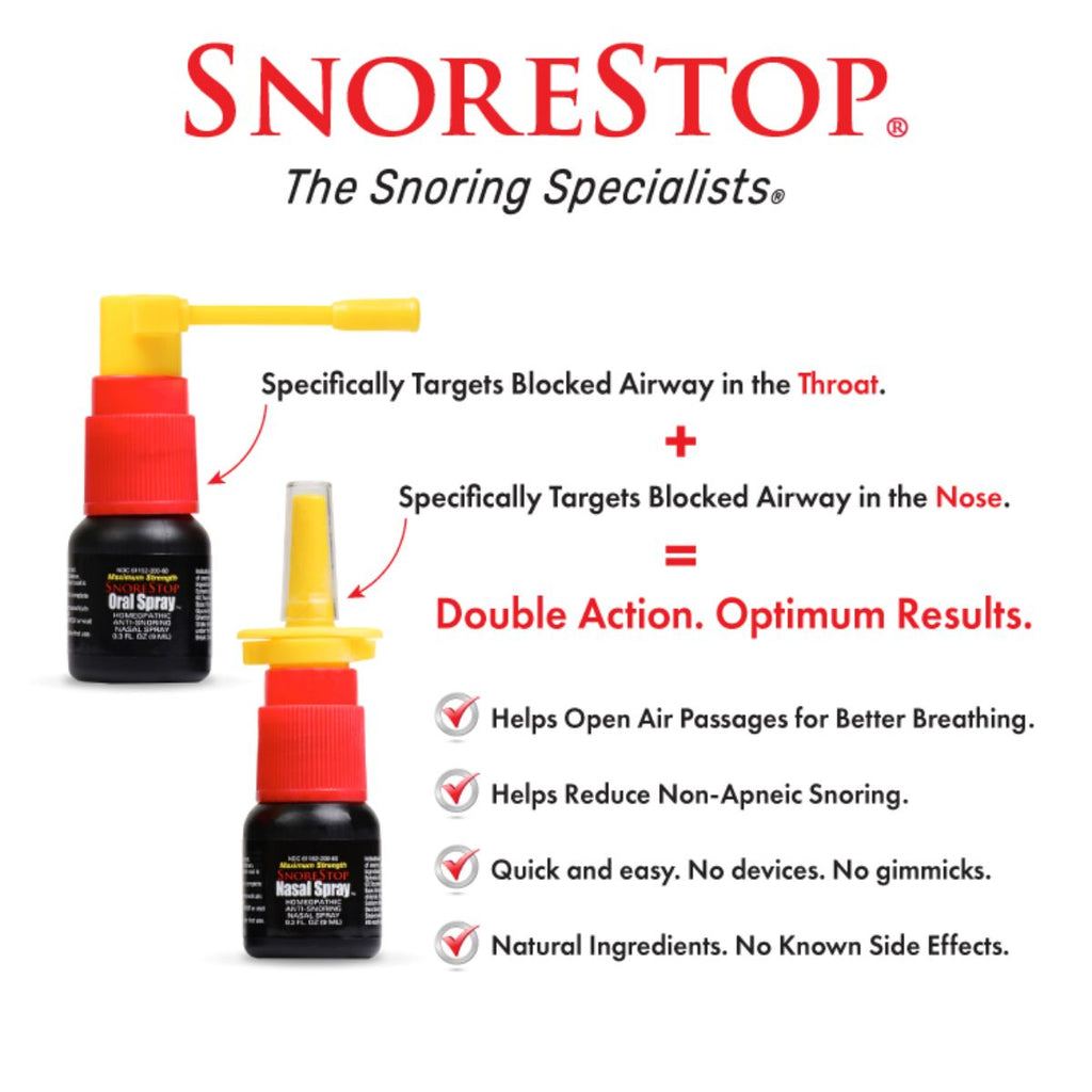 SnoreStop® Double Action™