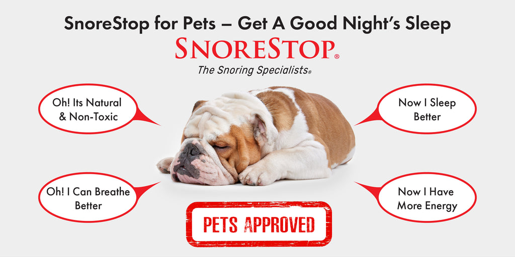 Snorestop For Pets Natural Anti Snoring Tablets