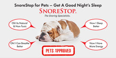 SnoreStop® for Pets Spray