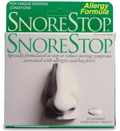 SnoreStop® Multi Allergy Formula