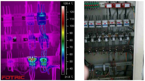 03 Plant Power Distribution Inspection with Fotric Thermal Camera