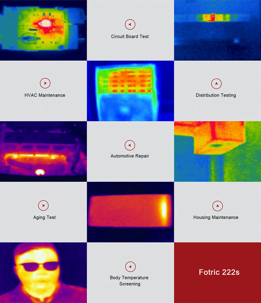 Application example Fotric 222rd thermal imager