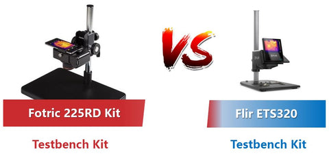 Fotric 225rd kit vs Flir ETS320 thermal camera