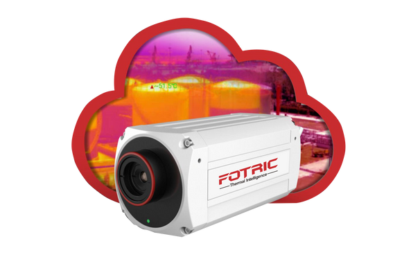 Fotric 123 IoT Cloud-Based Thermal Imaging Camera for Security and Early Fire Detection