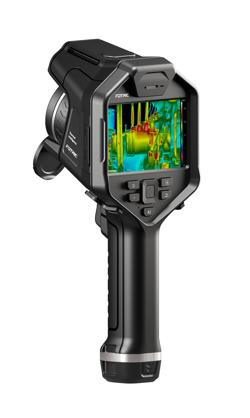 FOTRIC 345M Thermal Camera Artificial Intelligence with MagicThermal 320 x 240 Detector 30Hz 1280x720 HD Screen Resolution 25° Lens