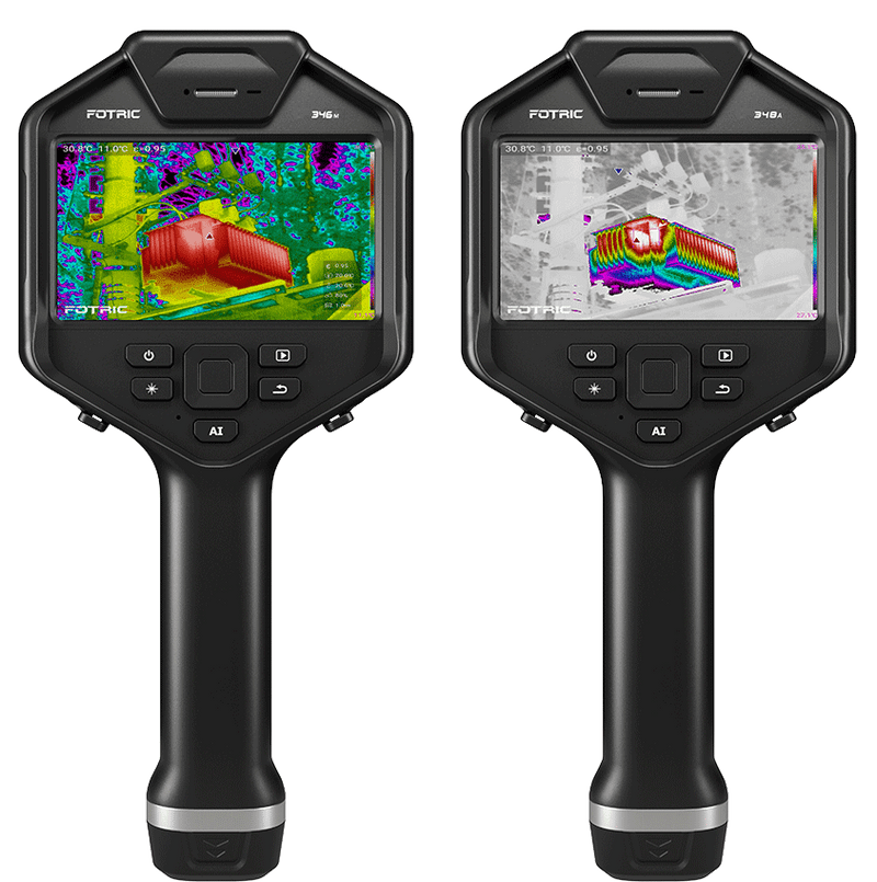 FOTRIC 346A Advanced Thermal Imager 384 x 288 Resolution 30Hz with 5-inch TouchScreen and 13MP Digital Camera