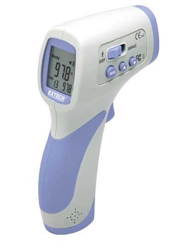 FDA 510(k) Cleared Extech IR200 Non-Contact FeverScan Forehead InfraRed Thermometer