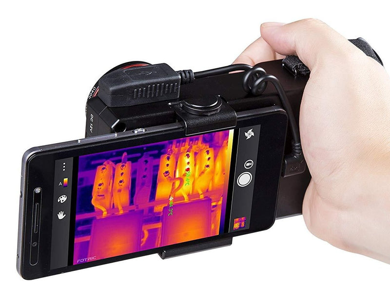 Fotric 228 Thermal Camera Pro 640x480 True Infrared Pixels 30Hz 1,202F Range FREE Smartphone