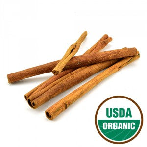 "Cinnamon Sticks 2 3/4"" whole organic"