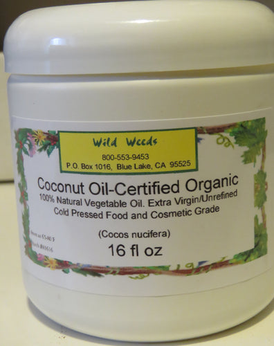 Coconut Oil-Organic 16 oz
