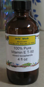 Vitamin E Oil T-50 4 oz