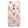 iPhone 7 and iPhone 7 Plus Cactus Floral Clear Bumper Case