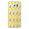 Samsung Galaxy S6 Pineapples Transparent Bumper Case