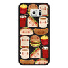 Samsung Galaxy S6 Fast Food Bumper Case