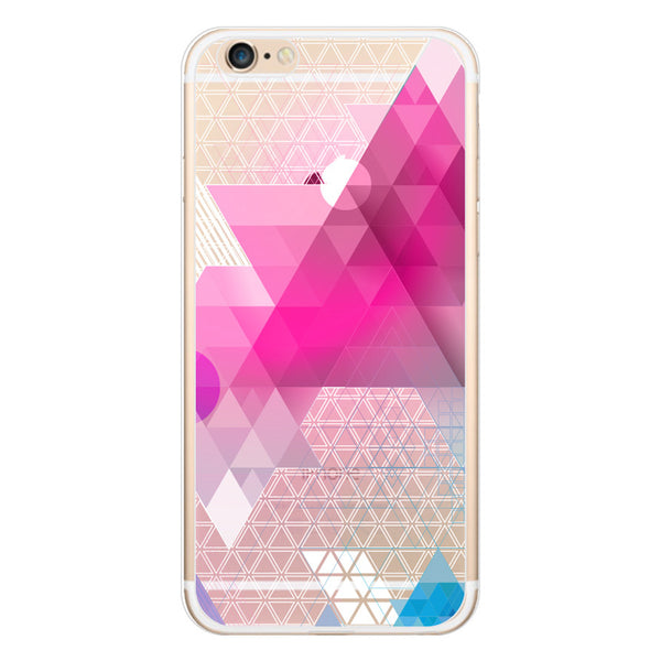 iPhone 6 and iPhone 6 Plus Geometric Abstract Clear Bumper Case