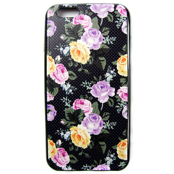iPhone 6 and iPhone 6 Plus Vintage Autumn Roses Bumper Case