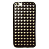 iPhone 6 and iPhone 6 Plus Clear Tiny Hearts Bumper Case