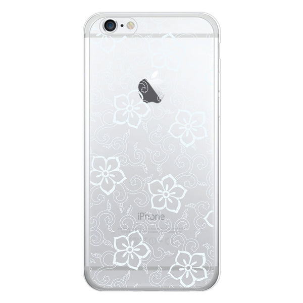 iPhone 6 and iPhone 6 Plus Floral Clear Bumper Case