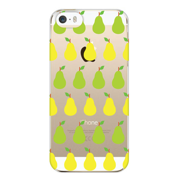iPhone 5 and iPhone 5s Pears Transparent Cap Case