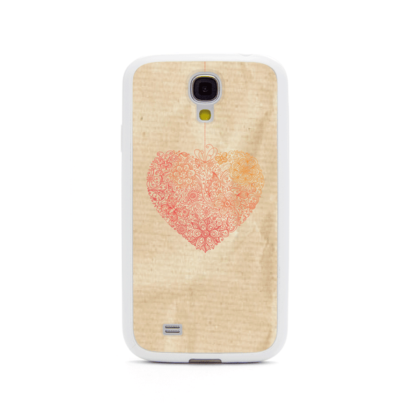 Samsung Galaxy S4 Heat Lace White Bumper Case