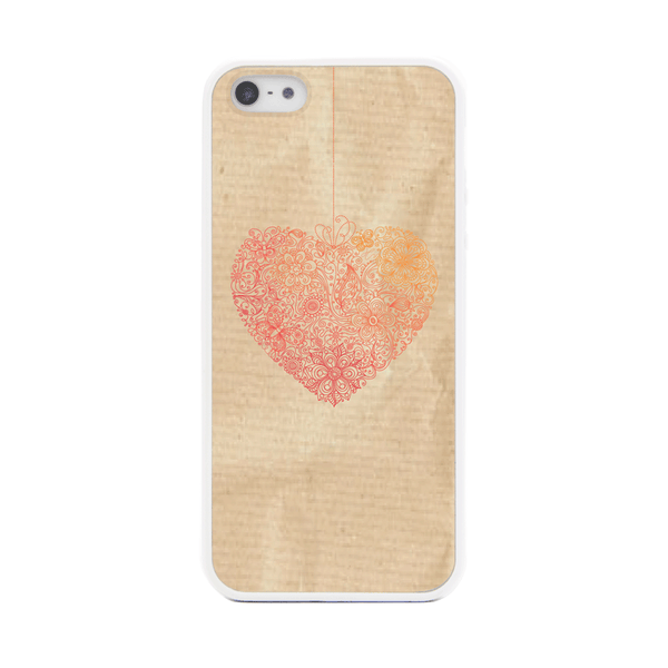 iPhone 5 and iPhone 5s Heart Lace Bumper Case