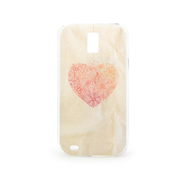 T-Mobile Samsung Galaxy S2 Heart Case - Ashby Heartstring Case