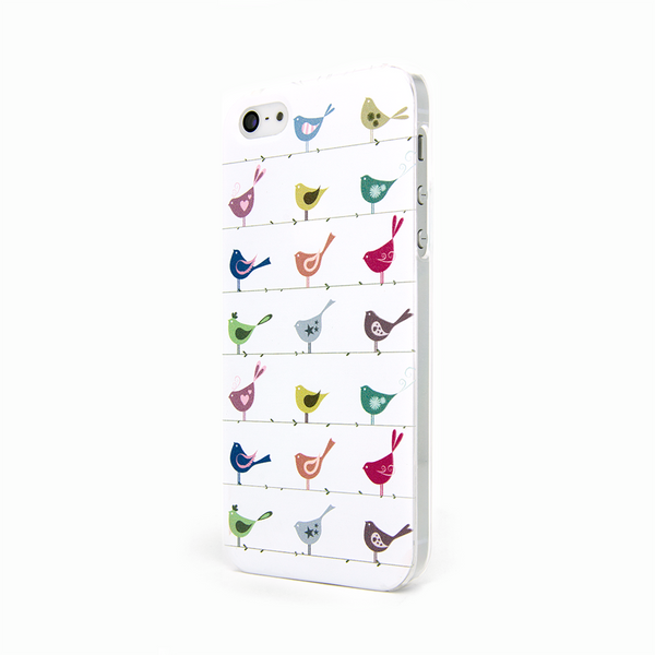 iPhone 5 and iPhone 5s Rainbow Birds Case Ashby Perch Case
