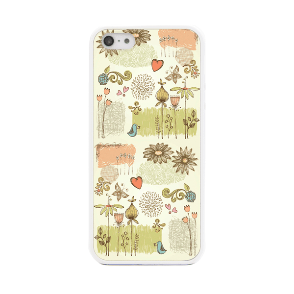 iPhone 5 and iPhone 5s French Floral Bumper Case
