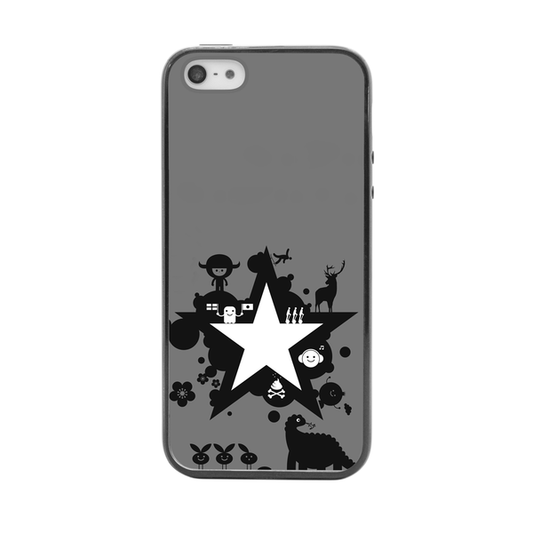iPhone 5 and iPhone 5s Godzilla Star Anime Inspired Bumper Case