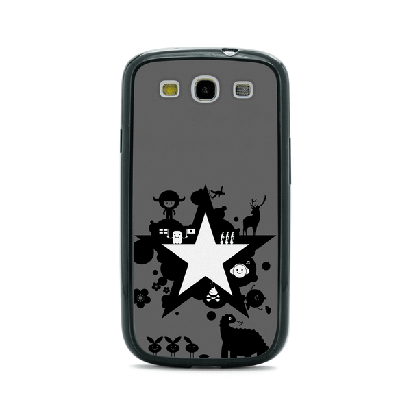 Samsung Galaxy S3 Comic Anime Star Bumper Case