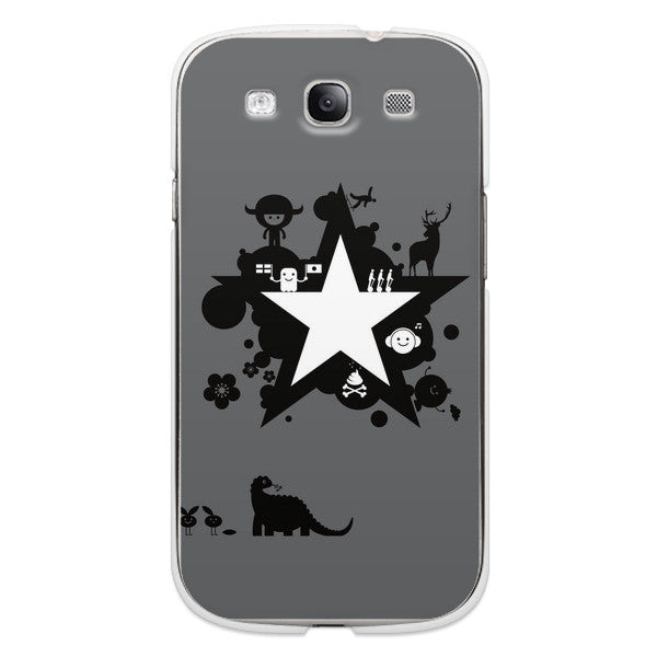Samsung Galaxy S3 Star Robots Comics Case - Attack Galaxacon