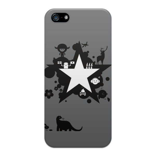 iPhone 5 and iPhone 5s Star Robot Comics Case - Attack Galaxacon Case