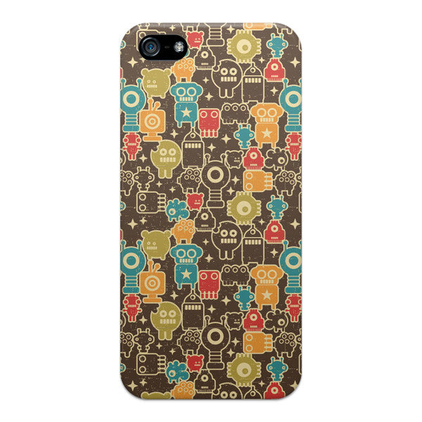 iPhone 5 and iPhone 5s Monsters Robots Case - Attack Monstabots Case
