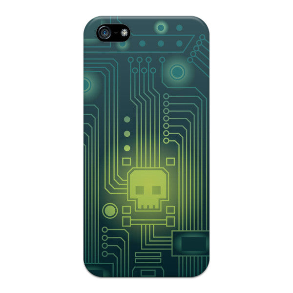 iPhone 5 and iPhone 5s Monsters Skull Virus Case - Attack Viral Case