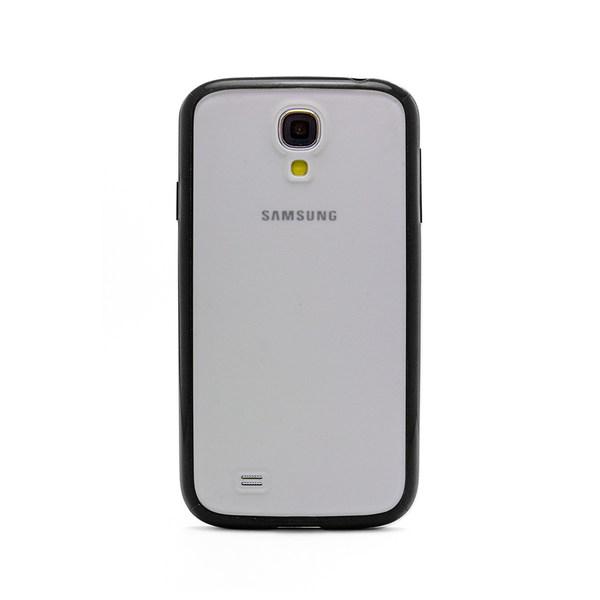 Samsung Galaxy S4 Black Bumper Frosted Case