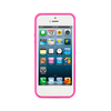 iPhone 5 and iPhone 5s Hot Pink Bumper Frosted Case