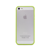 iPhone 5 and iPhone 5s Lime Green Bumper Frosted Case