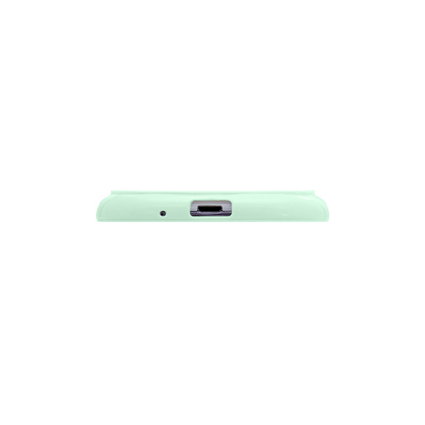 Samsung Galaxy S3 Mint Green Bumper Frosted Case