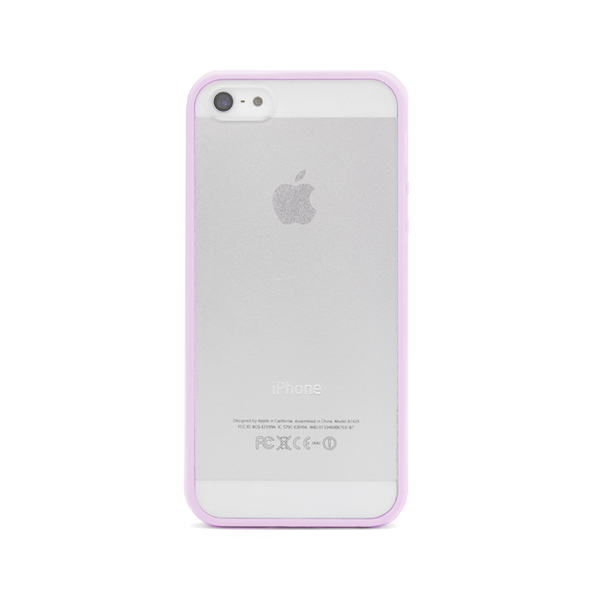 iPhone 5 and iPhone 5s Lavender Purple Bumper Frosted Case