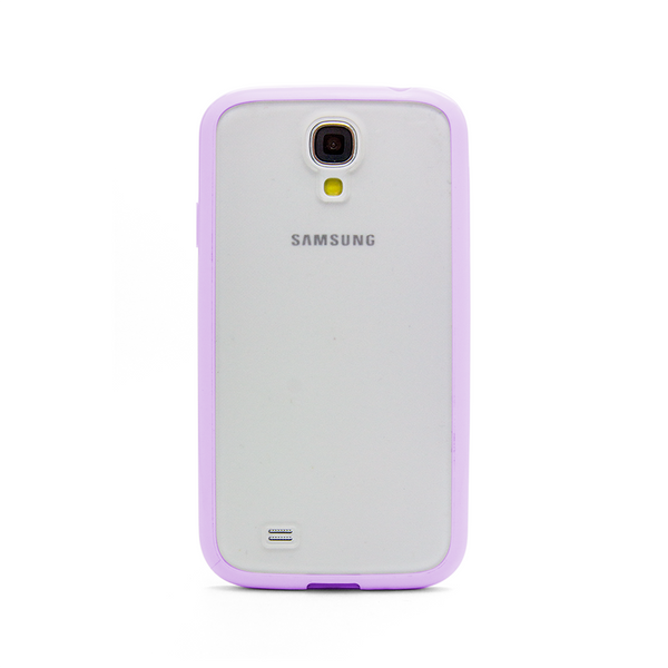 Samsung Galaxy S4 Lavender Purple Bumper Frosted Case