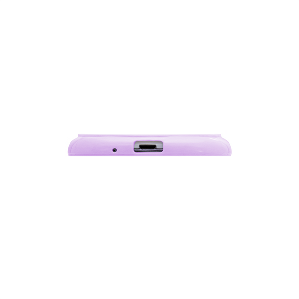 Samsung Galaxy S3 Lavender Purple Bumper Frosted Case