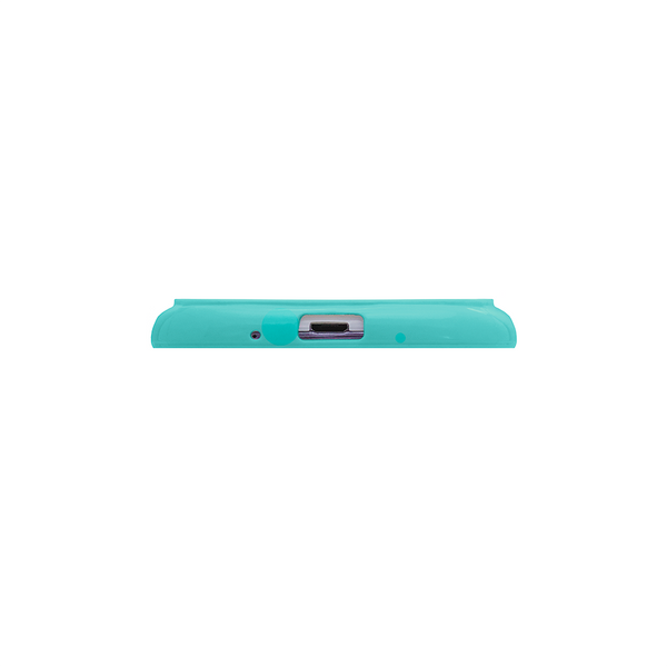 Samsung Galaxy S3 Teal Bumper Frosted Case