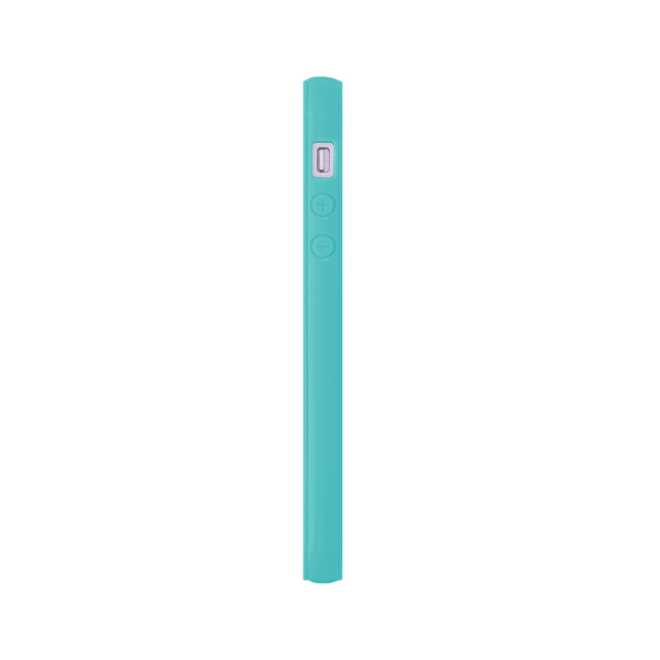iPhone 5 and iPhone 5s Pink Heart Turquoise Chevron Bumper Case