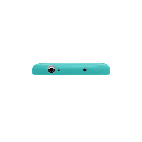 Samsung Galaxy S4 Teal Bumper Frosted Case