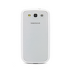 Samsung Galaxy S3 White Bumper Frosted Case