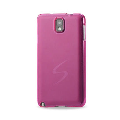 Samsung Galaxy Note 3 Pink Frosted Cap Case