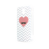 T-Mobile Samsung Galaxy S2 Chevron Heart Moustache Case - Chevron Gusto Case