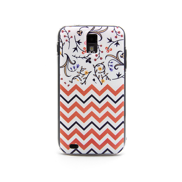T-Mobile Samsung Galaxy S2 Chevron Floral Case - Chevron Tessa Case